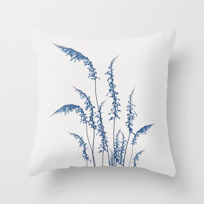Blue flowers 2 Deko-Kissen