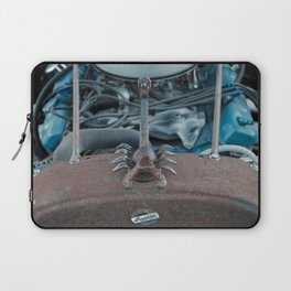 Scorpion in Metal on the Hood of a Hot Rod Laptop Sleeve