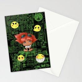 Chibi Edward Stationery Cards