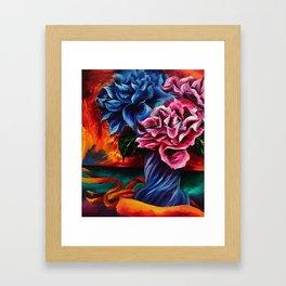 """""""Flowers"""" Painting Framed Art Print"""
