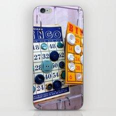 Bingo Cards & Buttons iPhone & iPod Skin