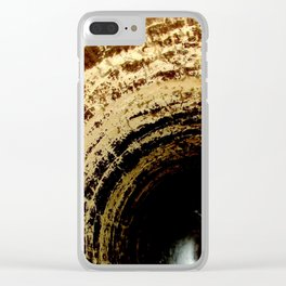 old tyre Clear iPhone Case