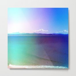 Summer Bay Metal Print