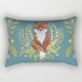 Fox Brown Rectangular Pillow