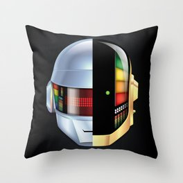 Daft Punk - Discovery variant Throw Pillow