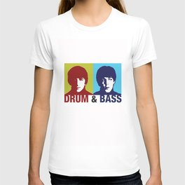 The Fab Four Drum and Bass T-shirt