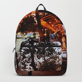 Paris in the evening Backpack