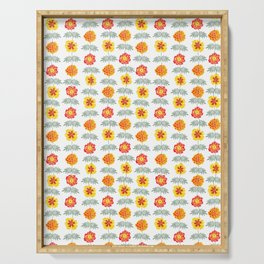Marigold Whimsy Serving Tray
