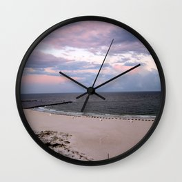Beach Colors Wall Clock