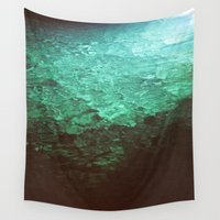 pool Wall Tapestries featuring Pool by Dulcinee