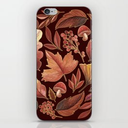 The Winds Of Autumn Have Returned iPhone Skin