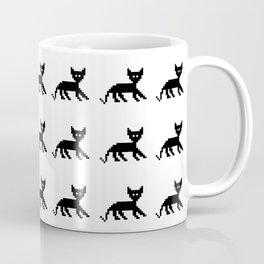 tile pixel cats Coffee Mug