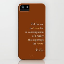 In Contemplation of Reality iPhone Case