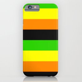 Aromantic Pride Flag v2 iPhone Case