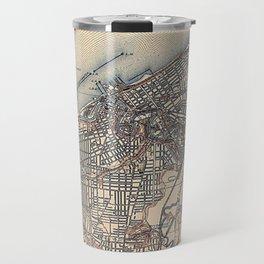 Vintage Map of Cleveland (1904)  Travel Mug