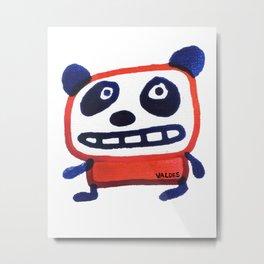 Mr. PP Panda Metal Print