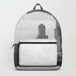Chicago Skyline Black and White Backpack