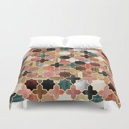 Twilight Moroccan Duvet Cover