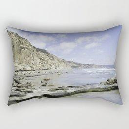 Torrey Pines Beach Rectangular Pillow