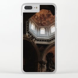 Peak of St Peter's Basilica Clear iPhone Case