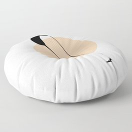 Skydiving Fly! Floor Pillow
