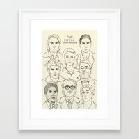 royal tenenbaums Framed Art Prints featuring The Royal Tenenbaums by Magdalena Pankiewicz