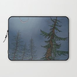 Forest Moonlight Laptop Sleeve