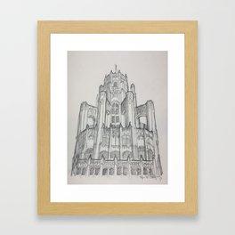 Chicago - Tribune Tower Framed Art Print