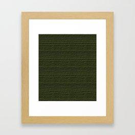 Cypress Wood Grain Texture Color Accent Framed Art Print