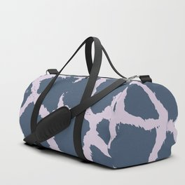 Giraffe Pattern - 2 colors Faded Purple & Pink Duffle Bag