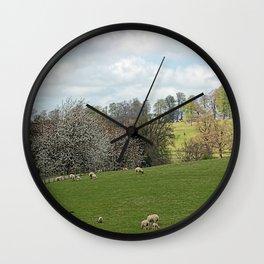 Fawsley Countryside Northamptonshire Wall Clock