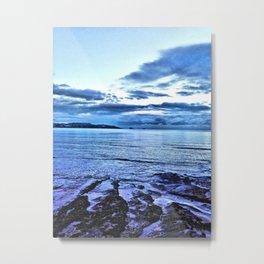 Torbay Seascape Metal Print