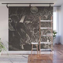 Harlem Renaissance Masterpiece 'Rhapsody in Black' by Isac Friedlander Wall Mural