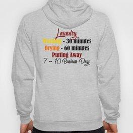 Funny Laundry Lazy Bum Hate Chores Honest Truth Meme Hoody