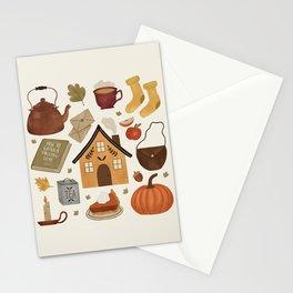 Autumn Cottage Days Stationery Cards
