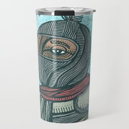 Zapatist mexican soldier Travel Mug