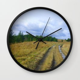 The Traveler's Trail Wall Clock