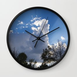 The Sunset Begins Wall Clock