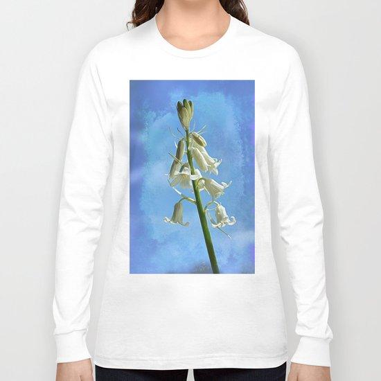 Albino Bluebells Long Sleeve T-shirt