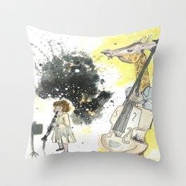 Squeak Throw Pillow