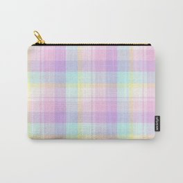 Spring Plaid 8 Carry-All Pouch