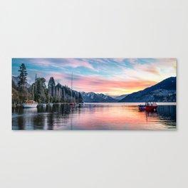Wakatipu Sunset 2 Canvas Print
