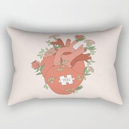 The Missing Piece Rectangular Pillow