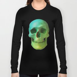 Anaglyph // Skull Long Sleeve T-shirt