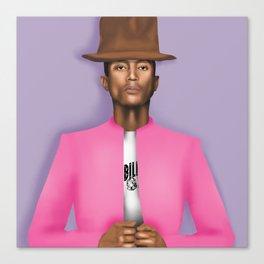 Pharrell Canvas Print