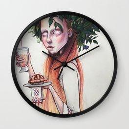 Midsommar_Love potion_ art print Wall Clock