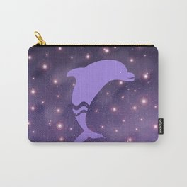 Dolphin in Universe _E04 Carry-All Pouch