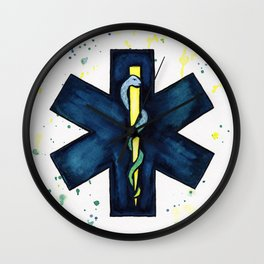 EMT Hero Wall Clock