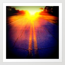 Roadless Art Print