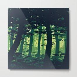 Woodscape Metal Print